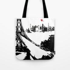 San Francisco's Bay Bridge  Tote Bag