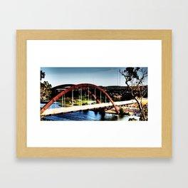 360 Framed Art Print