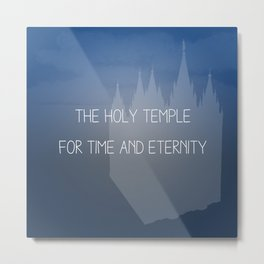 The Holy Temple Metal Print