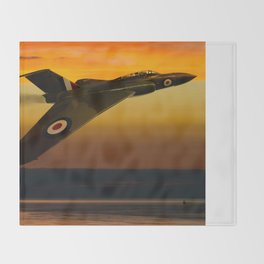 Gloster Javelin XA564 Throw Blanket
