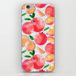 Citrus Love #digitalart #citrus iPhone Skin