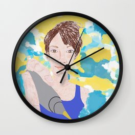 God Created you to be Amazing Wall Clock