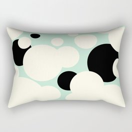 Vanilla Mint Chocolate Chip Rectangular Pillow