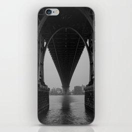 Williamsburg Bridge Underbelly iPhone Skin
