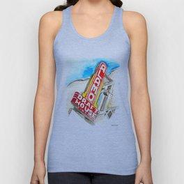 Alamo Drafthouse watercolor Unisex Tank Top
