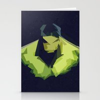 hulk Stationery Cards featuring Hulk by Javier Martinez