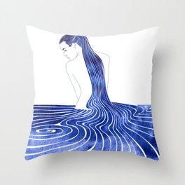 Lysianassa Throw Pillow
