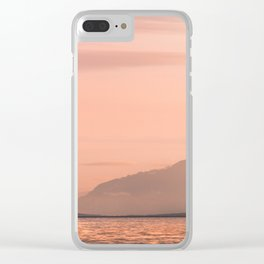 Pacific Northwest West Coast Sunset - Nature Photography Clear iPhone Case