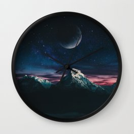 The Crescent Wall Clock