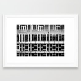Repetition... Framed Art Print