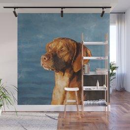 Vizsla dog - Hungarian hound Wall Mural