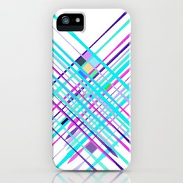 Improvised Geometry Nr. 2, Abstract iPhone Case