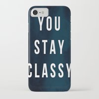 classy iPhone & iPod Cases featuring CLASSY by Chrisb Marquez
