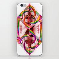 matrix iPhone & iPod Skins featuring Matrix by Brian Raggatt