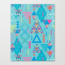 GeoTribal Pattern #010 Canvas Print