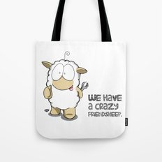 Friend Sheep Tote Bag