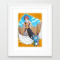 fairy tail Framed Art Prints featuring Fairy tail by Rosalys
