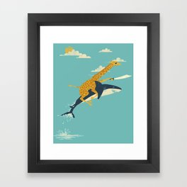 Onward! Framed Art Print