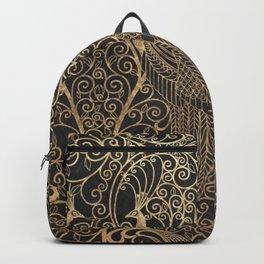 ART DECO PEACOCKS Backpack