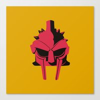 gladiator Canvas Prints featuring Gladiator by FilmsQuiz