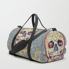 Aged Death - Vintage Skull Art Duffle Bag