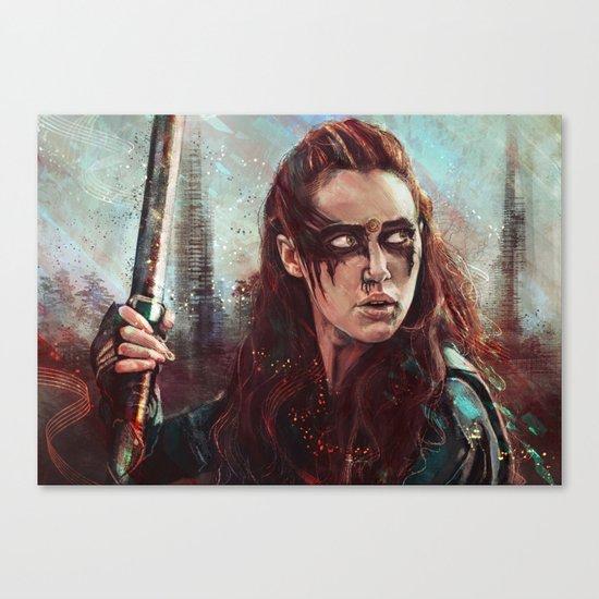 Lexa Canvas Print