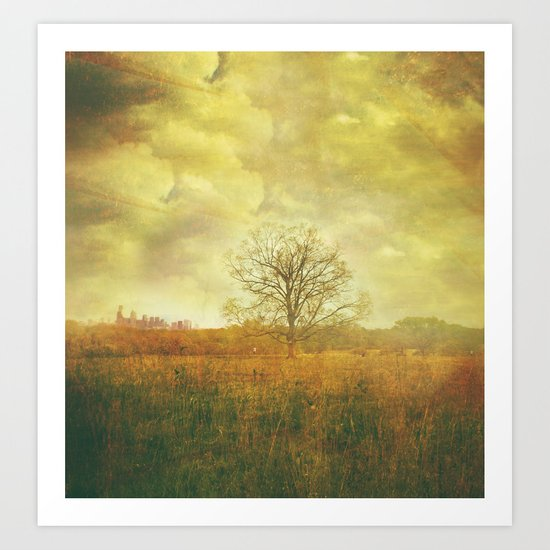 cloudy thoughts Art Print