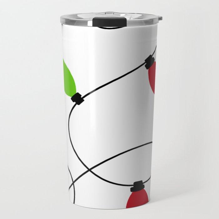 The Magic Of Christmas Lights Travel Mug