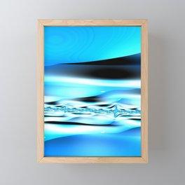 The Blues Framed Mini Art Print