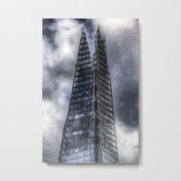 Shards of the Shard Metal Print