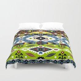 Boho Navajo Geometric Var. 9 Duvet Cover
