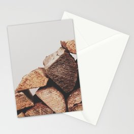 Firewood Stationery Cards