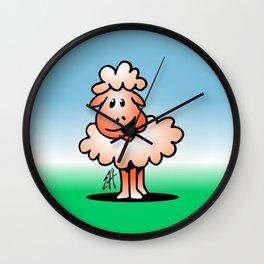 Lamb - sheep Wall Clock