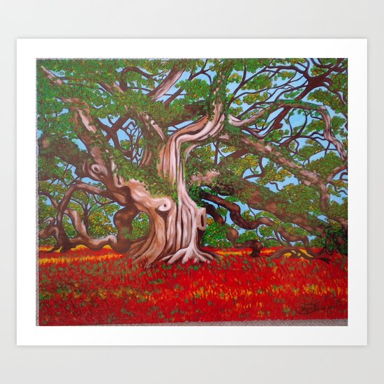 Madusa Searching for Treassure Art Print