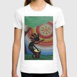 Kokopelli. God of fun and fertility T-shirt