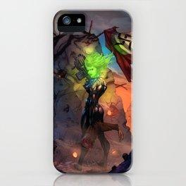 Anne  Frankenstein - Book I iPhone Case