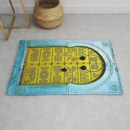 Ornate Tunisian Doorway Rug