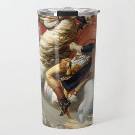 Bonaparte - The Emperor Napoleon - Jacques Louis David Travel Mug