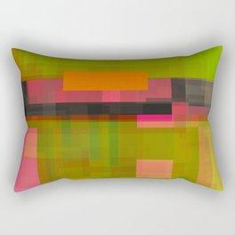 pinks beside greens Rectangular Pillow