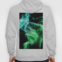 Smoke Green & blue Hoody
