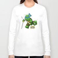 leo Long Sleeve T-shirts featuring Leo by le.duc