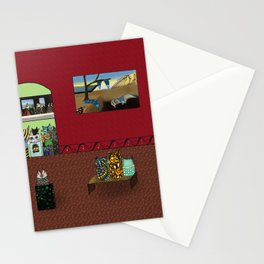 Museum Cats Stationery Cards