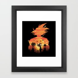 Beautiful Sunset Framed Art Print