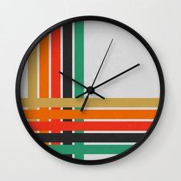 Geometric Lines Wall Clock