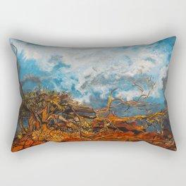 Nature's Fury Rectangular Pillow