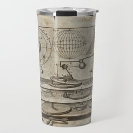 A mechanism for a model of planetary motion; W. Kelsall after J. Clement Travel Mug