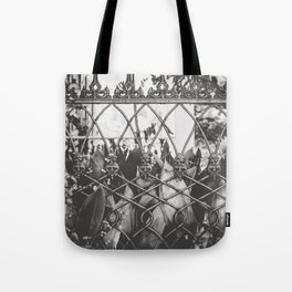 Skull Fence of New Orleans Tote Bag