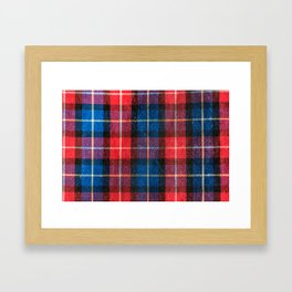 woodworkers pattern Framed Art Print