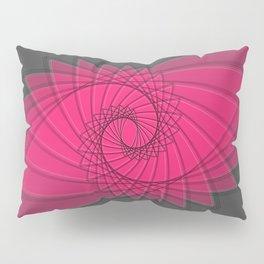 hypnotized - fluid geometrical eye shape Pillow Sham