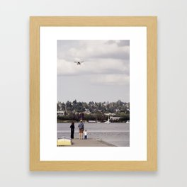 Planewatching Framed Art Print